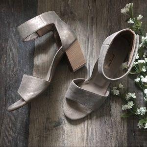 Paul Green | Mackenzie Smoke Leather Sandals